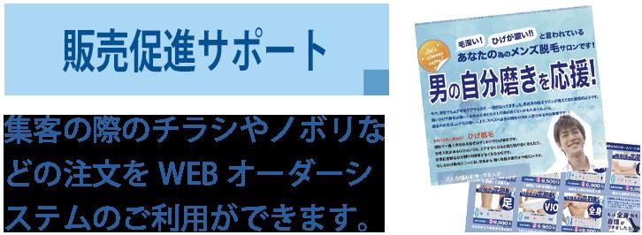 販売促進サポート2 - SELF ONEパンフレット