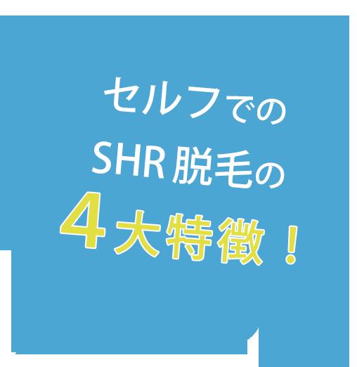 4大特徴 - SELF ONEパンフレット